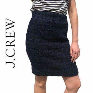 J. Crew- Wool Skirt